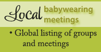 Local Babywearing Meetings