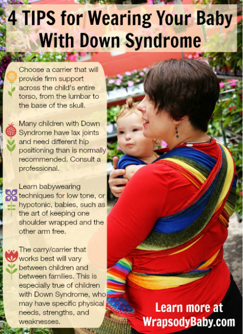 Babywearing And Down Syndrome Tesla S Story Wrapsody